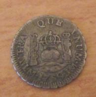 Achat Immédiat - Espagne / Espana - Monnaie 1/2 Real Fernando VI LIMA 1759 - Argent - TTB+ - Monnaies Provinciales