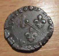 France - Monnaie Des Dombes - Double Tournois François II De Montpensier - 1586 - 476-1789 Monnaies Seigneuriales