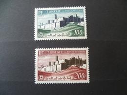 TUNISIE    POSTE AERIENNE  N° 20 / 21   NEUF * - Tunisia (1888-1955)