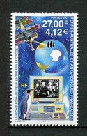 TAAF 2001 N° 295 ** Neuf MNH Superbe Cote 14 € Faune Oiseaux Manchot Liaison Radio Amateur MIR CROZET Espace Space - Terres Australes Et Antarctiques Françaises (TAAF)