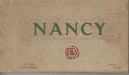 CPA NANCY - Carnet De 24 Cartes (complet) - Nancy