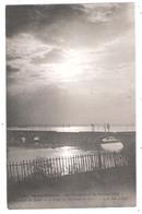 Gennevilliers (92 - Hauts De Seine)  Les Inondations De 1910 - Coucher De Soleil  Et Le Pont Du Chemin De Fer - Gennevilliers