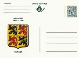 Carte Postale - 6F- Belgique 1830-1980 - Hainaut - Postwaardestukken