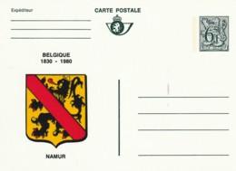 Carte Postale - 6F- Belgique 1830-1980 - Namur - Postwaardestukken
