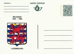 Carte Postale - 6F- Belgique 1830-1980 - Luxembourg - Postwaardestukken