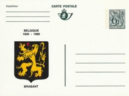 Carte Postale - 6F- Belgique  1830-1980 - Brabant - Postwaardestukken