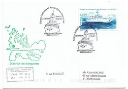 """16 - TAAF - Yvert 909 """" LA CURIEUSE """" Cachet 1er Jour 07 Juin 2019 Kerguelen - FDC - French Southern And Antarctic Territories (TAAF)"""