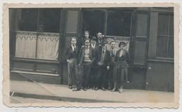 Photographie Saint Etienne Devanture Commerce 1933 - Plaatsen