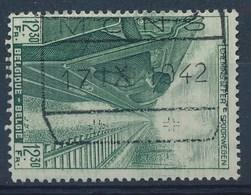 """BELGIE - OBP Nr TR 261 -  Cachet """"MONS"""" - (ref. 30.457) - Chemins De Fer"""
