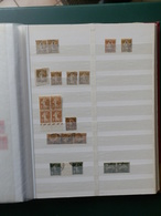 PETITE COLLECTION TYPE SEMEUSE CAMEE POUR ETUDE OBL. /MIL/BLOCS  ETC... - 1906-38 Säerin, Untergrund Glatt