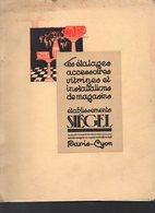 Paris-Lyon  Catalogue De Luxe SIEGEL  (étalages) Octobre 1931  (CAT 1596) - Publicités