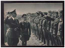 DT- Reich (009004) Propagandakarte Der Führer Und Oberste Befehlshaber Der Wehrmacht Bei Seinen Fliegern, Ungebraucht - Alemania