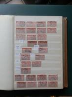 PETITE COLLECTION TYPE MERSON POUR ETUDE OBL. /MIL/BLOCS  ETC... - 1900-27 Merson