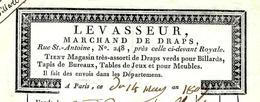 """PARIS 1807 VIE QUOTIDIENNE ...dans De Beaux Draps .."""" LEVASSEUR RUE ST ANTOINE AVEC SIGNATURE VOIR SCANS - 1800 – 1899"""