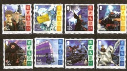 Île De Man 2004 Yvertn° 1204-1211 *** MNH   Cote 19 Euro Cinéma Harry Potter - Man (Ile De)