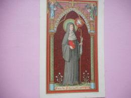 DEVOTIE  -ST.AUGUSTINUS-SANTA SCHOLASTICA - Religion & Esotericism
