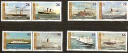 Île De Man 2005 Yvertn° 1232-1239 *** MNH   Cote 16 Euro Bateaux Ships Boten - Man (Ile De)
