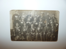 DROME ANNEYRON CARTE PHOTO RARE CONSCRITS CLASSE 1918 - Frankreich