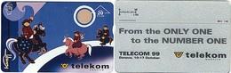 Telekom Austria Test / Demo / Exhibition___TELECOM 99 In Geneve___Landis & Gyr Rare Promotion Card___ANK# F467 - Autriche