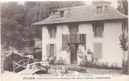 GRENOBLE JULIEN CONSTRUCTION DE DALLES EN CIMENT , Concessionnaire, Chemin Des Eaux Claires - Grenoble