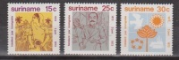 Suriname 600-602 MNH ; Immigratie, Immigration 1973 NOW SPECIAL SURINAME SALE - Suriname ... - 1975