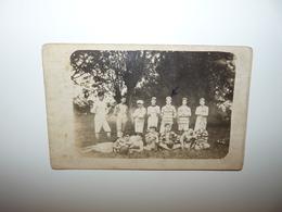DROME ANNEYRON CARTE PHOTO RARE L'EQUIPE DE RUGBY EN 1917 - Frankreich