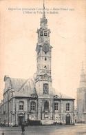 Exposition Provinciale Limbourg 1907 - L'Hôtel De Ville Et Le Beffroi - Sint-Truiden - Sint-Truiden