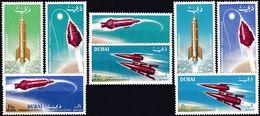 DUBAI 1964 Mi-Nr. 71/78 A ** MNH - Dubai