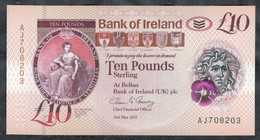 Northern Ireland - 10 Pounds 2017 - P.new Polymer - 10 Pounds