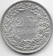 Suisse - 2 Francs - 1940 - Argent - Switzerland