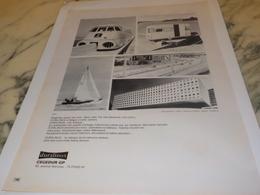 ANCIENNE PUBLICITE DURALINOX CEGEDUR GP 1972 - Publicité