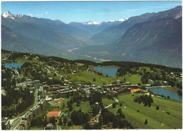Crans-Montana ( Alt. 1500 M) - Valais   - (Schweiz/Suisse) - TENNIS COURT - VS Valais