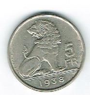 Belgique 5Fr 1938 - Belgien