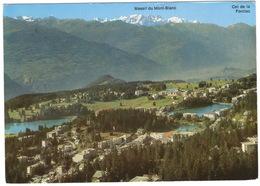 Crans-Montana (1500 - 3000 M) - Vue Générale Des Deux Stations  - (Schweiz/Suisse) - VS Valais
