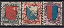 SCHWEIZ, 153-155, Gestempelt, Pro Juventute 1920 - Pro Juventute
