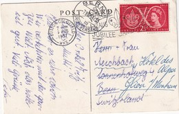 GRANDE-BRETAGNE 1957 CARTE JUBILEE JAMBOREE A SUTTON PARK - 1952-.... (Elizabeth II)
