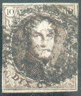 N°3 - Médaillon 10 Centimes Brun TB Margé, Obl. D.69 - 15080 - 1849-1850 Medaillen (3/5)