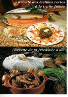 Recettes De Cuisine : Lot De 10 Cartes Neuves  De Plats Régionaux Editions Debaisieux - Küchenrezepte