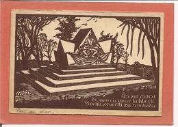 CPA Militaria - Au Profit Du Monument Aux Anciens Volontaires TCHECOSLOVAQUES Morts En France En 1914-1918 - Sculpté Par - Monuments Aux Morts