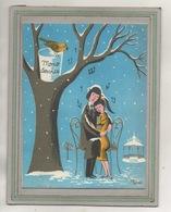 CPA - Illustrateur: PEYNET - PUB + Joyeux Noël En 1957 De MONO-SERVICE - Peynet