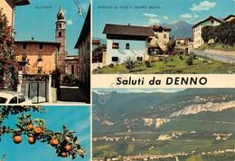 Cartolina Denno Vedute 1976 - Trento