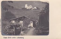 4811201Feste Stein Unter Lebenberg. (Verlag B. Peter, Meran 1904.) - Italie