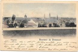 Souvenir De Tirlemont NA29: Panorama 1902 - Tienen