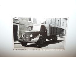 DROME HAUTERIVES CARTE PHOTO TRES RARE TRANSPORTS G. FILHOL ANNEE 1945 - Hauterives