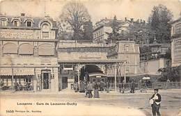LAUSANNE.- GARE DE LAUSANNE-OUCHY - VD Vaud