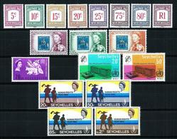 Seychelles LOTE (20 Series) Nuevo Cat.51,70€ - Seychelles (1976-...)