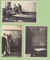Grenoble, Institut Polytechnique 1925. 3 Photos Originales. Tampon Ruche Pistalle Grenobloise. Taupins. 2 Scans. - Plaatsen