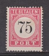 Nederlands Indie Dutch Netherlands Indies Port 1 Tanding A Type 13 MLH ; Portzegel Due Stamp Timbre Tax Dienstmarke 1882 - Niederländisch-Indien