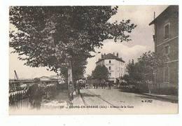 01 - BOURG - Avenue De La Gare  - 2549 - Bourg-en-Bresse