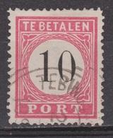 Nederlands Indie Dutch Netherlands Indies Port 7 Tanding A Type 3 Used ; Portzegel Due Stamp Timbre Tax Dienstmarke 1882 - Niederländisch-Indien